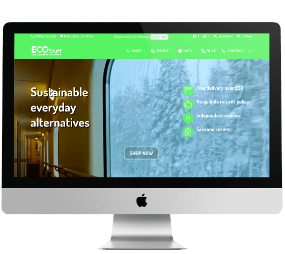 EcoStuff Website Design