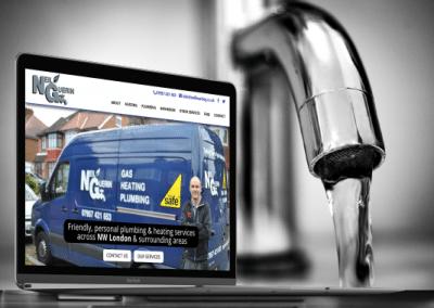NG Plumbing & Heating Website Design