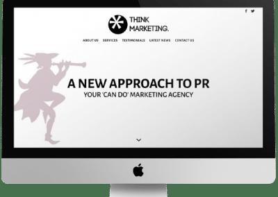 Think Marketing Website Design