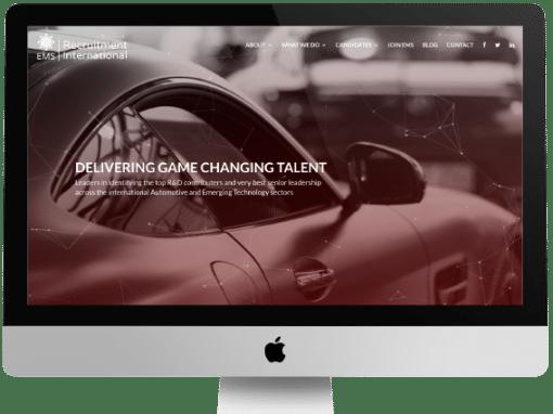 EMS Recruitment Web Design