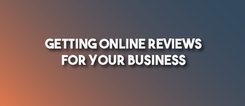 getting online reviews