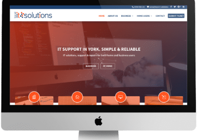Local IT Solutions Web Design