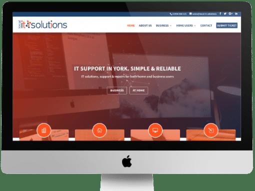 Local IT Solutions Web Design