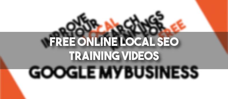 Free local SEO training