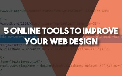 5 Online Tools To Improve Your Web Design