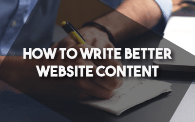 How To Write Better Website Content