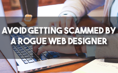 Avoid getting scammed by a rogue web designer