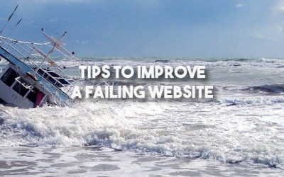 3 Tips To Improve A Failing Website