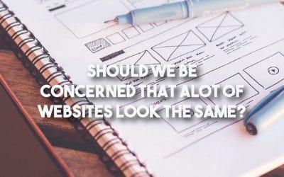 Should We Be Concerned That Websites Look the Same?