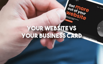 Your Website Vs Your Business Card
