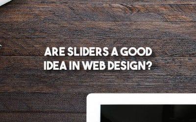 Are Sliders A Good Idea In Web Design?