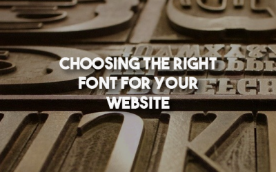 Choosing the Right Font for Your Website