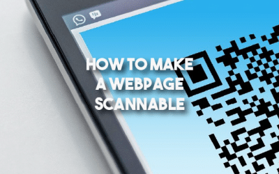 How to Make a Webpage Scannable